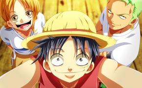 Картинка girl, game, One Piece, pirate, hat, smile, anime, man, asian, manga, japanese, asiatic, Roronoa Zoro, …