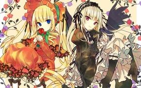 Картинка куклы, кукла, rozen maiden, шинку, Дева роза, суигинто