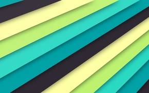 Картинка линии, голубой, текстура, салатовый, material