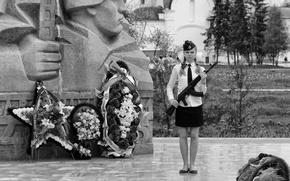 Картинка день победы, ярославль, монумент, почётный караул