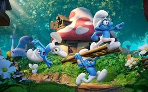 Картинка cinema, forest, Sony, trees, design, hat, nature, heart, flowers, houses, movie, tattoo, window, villa, mushroom, …
