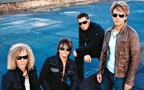 Картинка Музыка, Рок, Bon Jovi, Глэм Рок, Бон Джови
