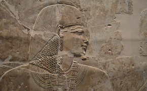 Обои egypt, sculpture, relief, khaemhat