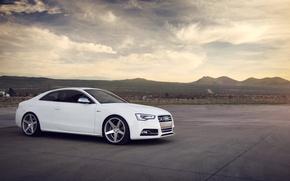 Картинка Audi, ауди, белая, white, спорткар