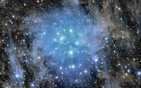 Картинка скопление, Плеяды, M45