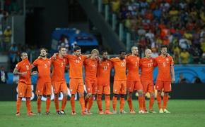 Картинка Wesley Sneijder, Robin van Persie, Робин ван Перси, Arjen Robben, Арьен Роббен, Чемпионат Мира 2014, …