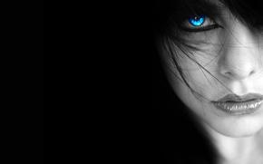 Картинка лицо, глаз, портрет