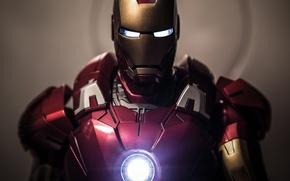 Картинка фантастика, размытие, костюм, шлем, Железный человек, Iron Man, Tony Stark