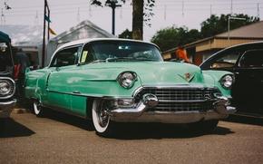 Картинка ретро, Cadillac, классика, передок, Series 62