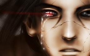 Картинка лицо, аниме, слезы, арт, наруто, парень, naruto, uchiha itachi, chekoaguilar