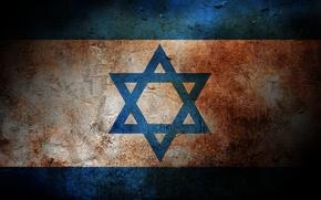 Обои цвета, флаг, израиль