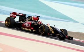 Картинка Formula 1, Lotus F1 team, E22, Pastor Maldonado