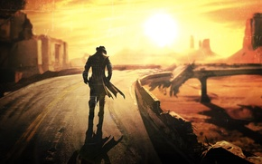 Картинка Fallout, Fallout New Vegas, post apocalypse