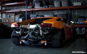 Обои Lamborghini, Gallardo, ремонт