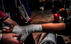 Обои hand, preparations, boxing