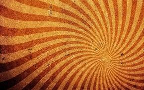 Обои волны, лучи, желтый, полосы, фон, текстура, рыжий, коричневый