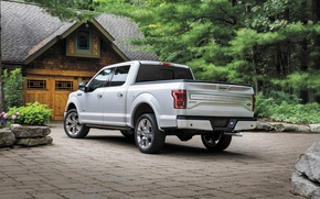 Картинка Ford, F-150, Pickup, Limited, 2016, Ford F-150, Ford 2016, Ford Limited, 2016 Ford F-150 Limited