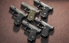 Картинка оружие, пистолеты, Австрия, Glock