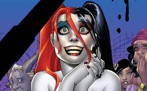Обои DC Comics, Харли Квинн, Комиксы, Harley Quinn