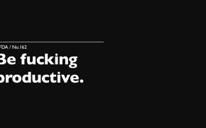Картинка белый, надпись, черный, Black, White, fucking, мотивация, productivity, Motivate, продуктивность