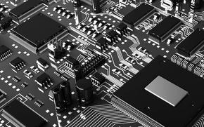 Картинка микросхема, плата, процессор, чип