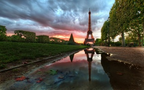 Обои франция, Paris, Eiffel Tower, France, париж, Эйфелева башня