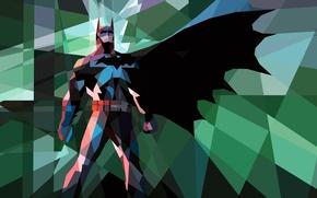 Картинка мозаика, batman, бэтмен, mosaic