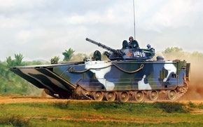 Картинка рисунок, арт, КНР, БМП, китайская боевая машина пехоты, ZBD-2000, ZBD-05