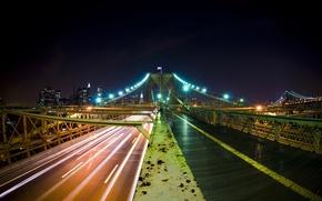 Обои цвета, мост, города
