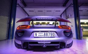 Картинка Porsche, Hybrid, 918 Spyder