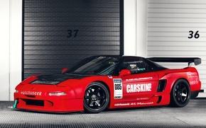 Картинка Honda, Car, Race, NSX, Time Attack