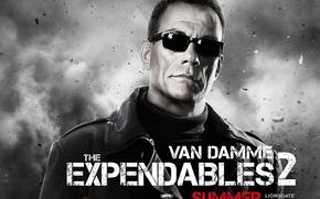 Обои The Expendables 2, Jean Vilain, Неудержимые 2, Жан-Клод Ван Дамм, Jean-Claude Van Damme
