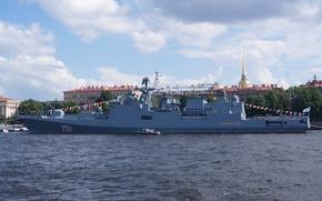 Картинка корабль, фрегат, сторожевой, Адмирал Эссен