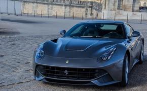 Картинка Ferrari, stone, Berlinetta, F12, paving