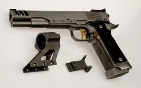Обои пистолет, ствол, германия
