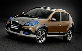 Обои стевей, сандеро, Sandero, Stepway, 2010, Renault, рено, Concept