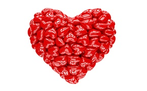 Картинка сердце, red, love, heart