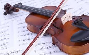 Картинка ноты, музыка, скрипка, книга