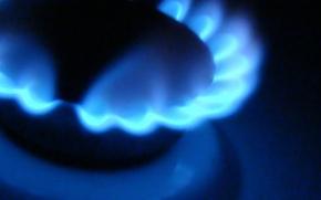 Обои огонь, плита, газ