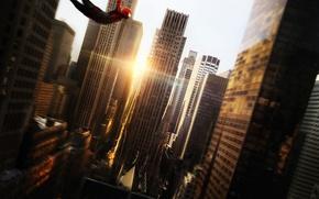 Картинка супергерой, марвел, spider man, новый человек паук, высокое напряжение, the amazing spider man 2