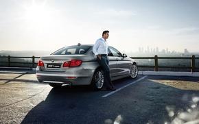 Картинка бмв, BMW, седан, 5 series, F10, Sedan, 2015