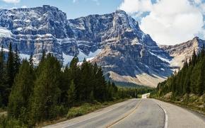 Картинка дорога, горы, пейзаж