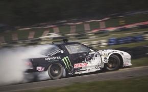 Картинка car, Nissan, drift, europe, monster, austria, smoke, photo, race, energy, burnout, king, MMaglica, tire, burn, …