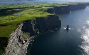 Картинка обрыв, берег, Ирландия
