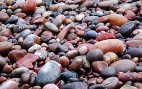 Картинка пляж, Камни, мокрые, Мока