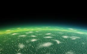 Картинка вода, космос, фантастика, планета, арт