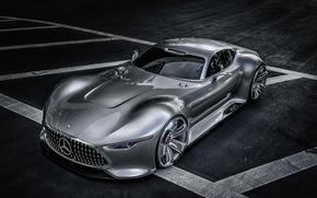 Картинка Mercedes-Benz, суперкар, Gran Turismo, Concept 2013, AMG Vision