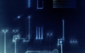 Картинка схема, текстура, детали, соединения