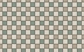 Обои квадраты, сетка, стена, фон, обои, плитка, решётка, текстуры