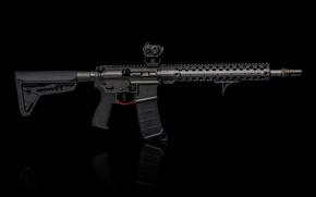 Картинка дизайн, стиль, AR-15, штурмовая винтовка
